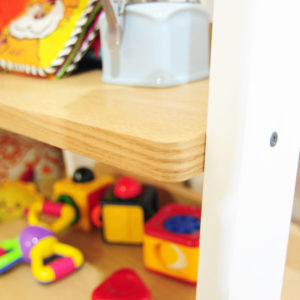 Sharp edges and kids don't go together. That's why we've ensured that the edges are rounded for your child's safety.