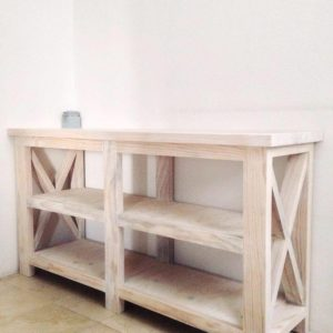 Solid Wood Toy Rack