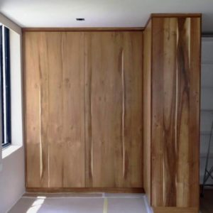 Custom Wardrobe using Teak Veneers