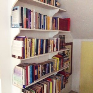Bookshelves for our book loving customer