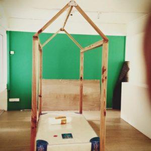Pine Montessori Bed - House Frame