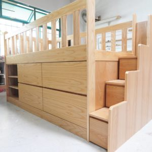 Loft Bed with Storage