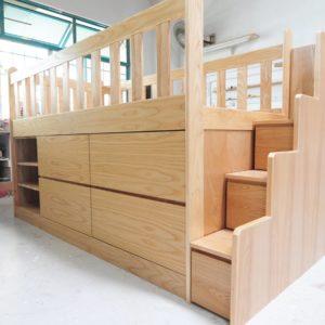 Loft Bed with Storage