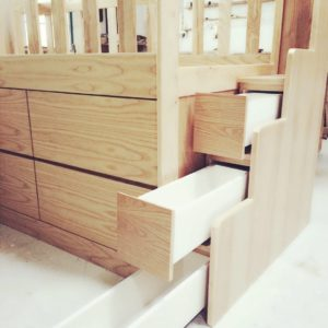 Loft Bed - Staircase Storage