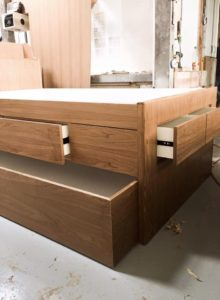 Ash Trundle with Storage