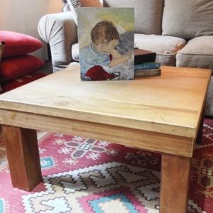Solid Wood Acacia Coffee Table