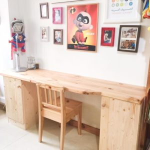 Built In Kids Study Table