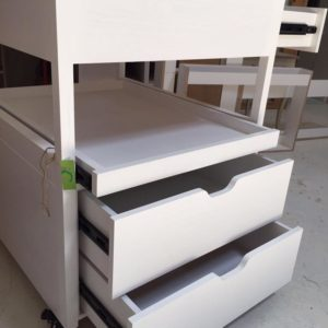 2 Layer Changing Table with Storage