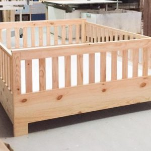 Queen Size Cot Bed
