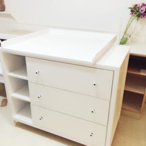 Custom Changing Table - Another Angle