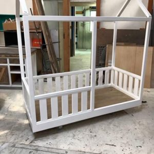 Montessori Bed with Rails - House Frame Bed