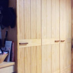 Custom Solid Pine Wardrobe
