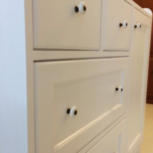 Country Style Changing Table - Close Up View