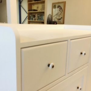 Country Style Changing Table - Top View