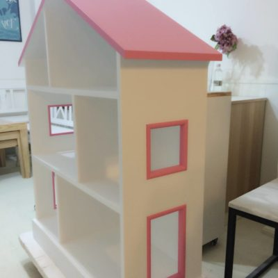 Dollhouse Shelving Unit Side View