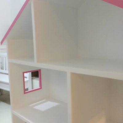 Dollhouse Shelving Unit - Close Up