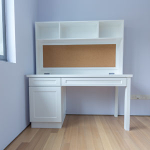 Study Table with Built-in Corkboard - Single