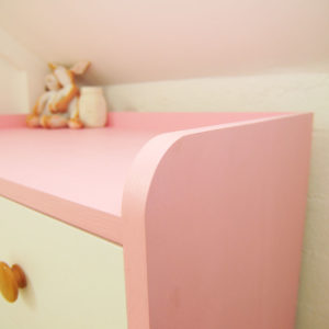 Kiddy Dresser - Recessed Top