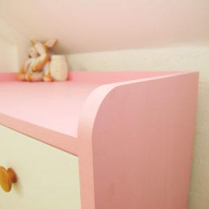 Kiddy Dresser - Recessed Top