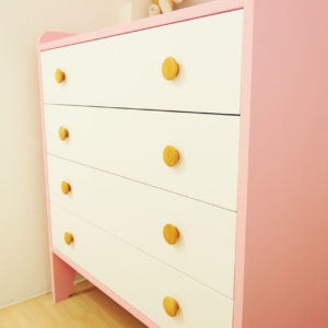 Kiddy Dresser with Solid Plywood