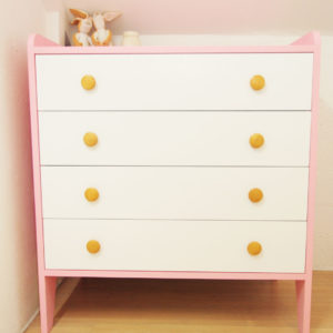 Kiddy Dresser in Pink