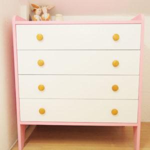 Kiddy Dresser in Pink
