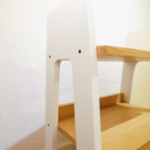 Scandinavian ladder shelves