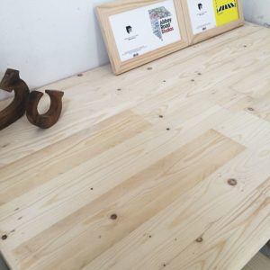 Raw Solid Pine Table Top Set - Close Up
