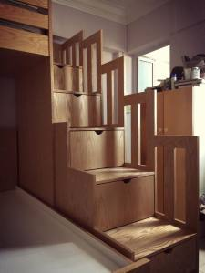 Mixed Size Bunk Bed