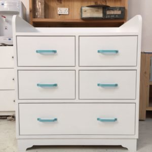 Aqua Changing Table