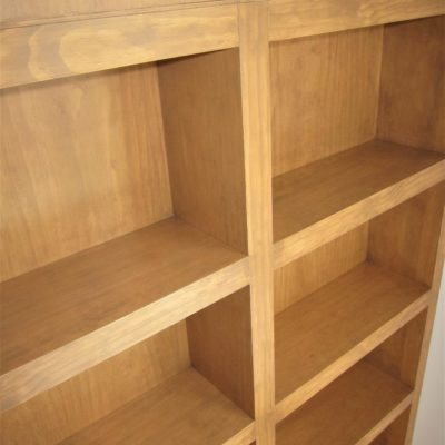 Loft Bed with Cubby Storage - Built In Bookshelves