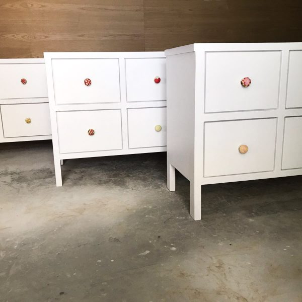 Set of 3 Chest of Drawers