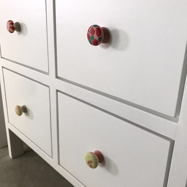 Custom Hand Painted Knobs by Children