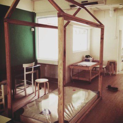 Montessori Bed - Natural Wood Finishing