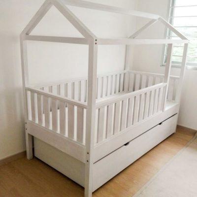 Trundle Montessori Bed