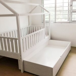 Trundle Montessori Bed - Open