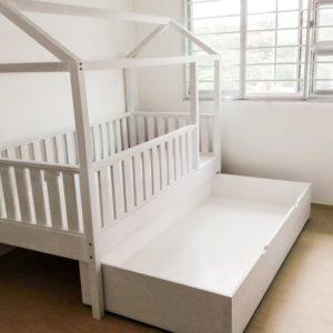 Trundle Montessori Bed - Open