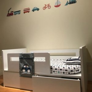 Nautical Theme Storage Bed