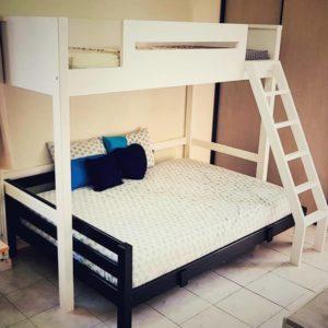 Queen Bottom Loft Bed