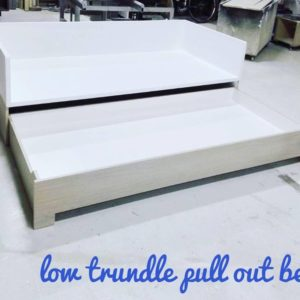 Low Trundle Day Bed