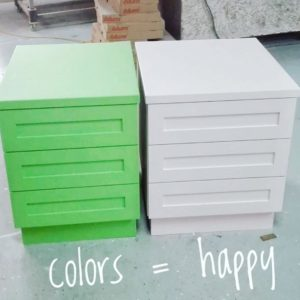 Colorful Side Tables