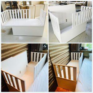 Custom Co-Sleeper Bed
