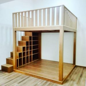 Mega Loft Bed with Storage