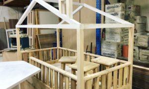 Montessori Bed and Stool Set