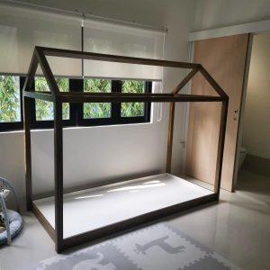 Classic Montessori Bed in Wood Finish